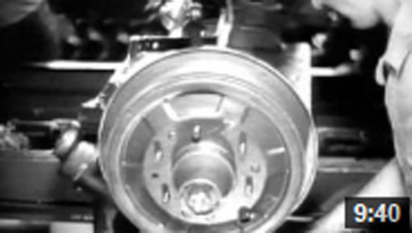 Présentation video d'une chaîne de montage auto
