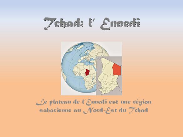 Présentation PPS du désert de L'Ennedi